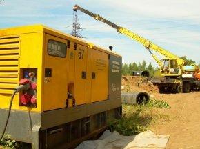 Как с генератором обеспечить бесперебойную работу на стройплощадке?