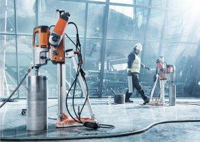 Каким образом производится бурение бетона