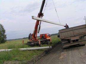 Этапы работ по монтажу новой линии электропередач