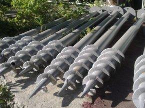 Использование винтовых свай при изготовлении фундамента