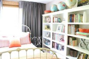 Книжные шкафы: храним книги правильно