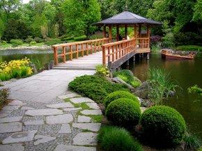Использование китайского стиля при создании ландшафтного дизайна