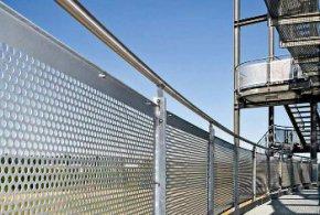 Использование перфорированных алюминиевых листов в строительстве