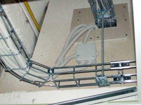 Протяжка силового кабеля в квартире
