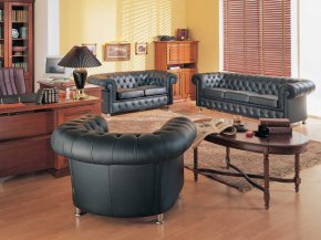 Как купить офисную мебель? Параметры выбора дивана в кабинет руководителя